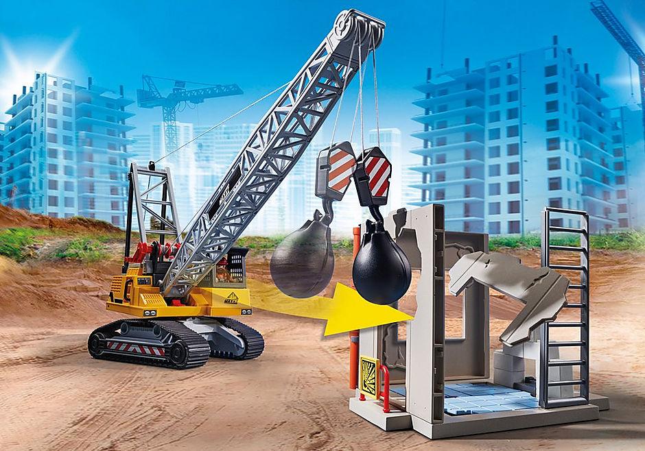 70442 Dragline avec mur de construction detail image 8