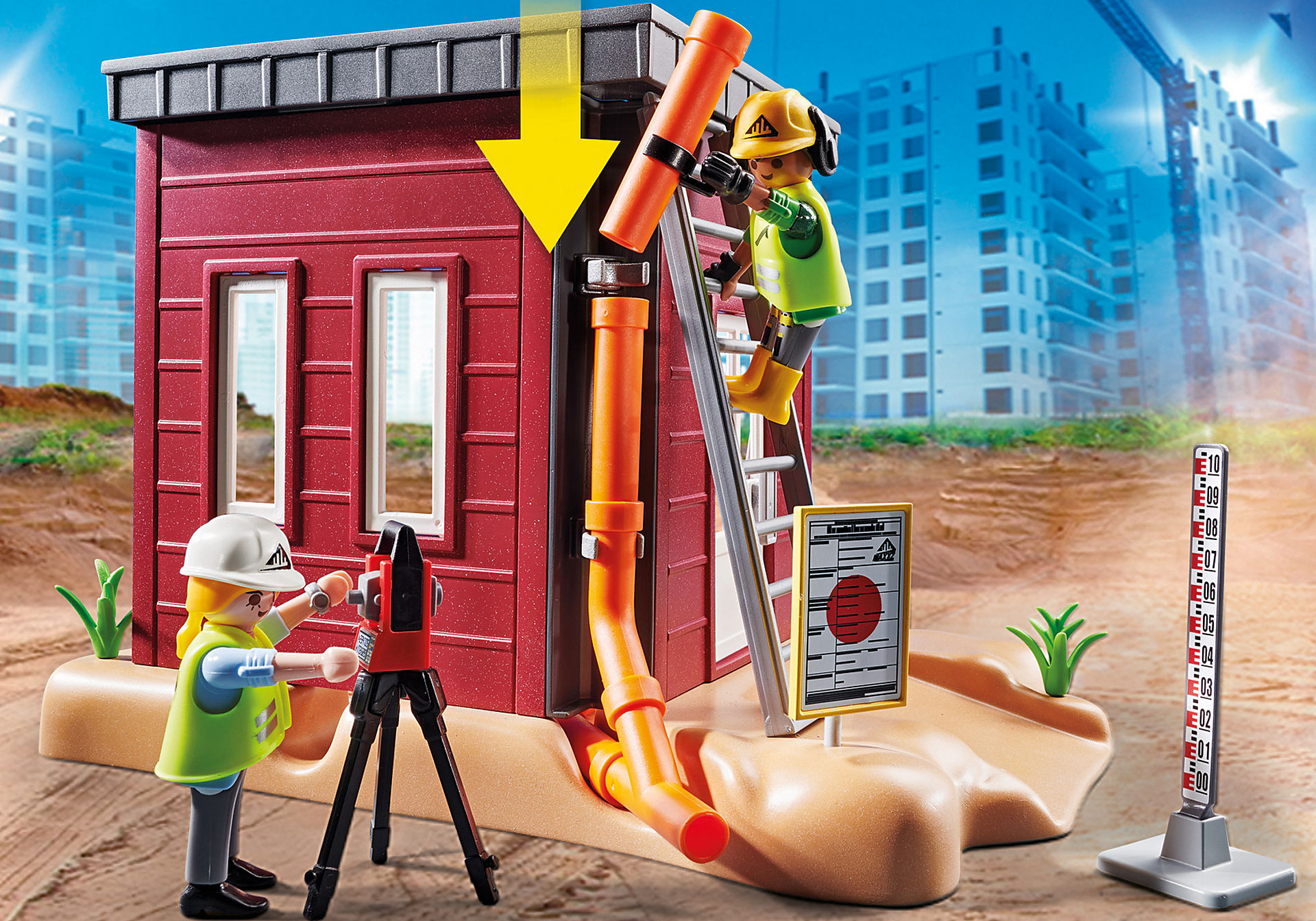 70443 Mini escavatore con cantiere zoom image4
