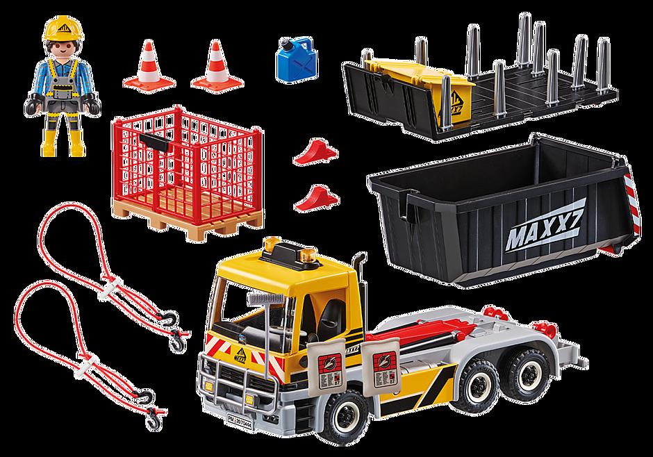 70444 Vrachtwagen met wissellaadbak detail image 3