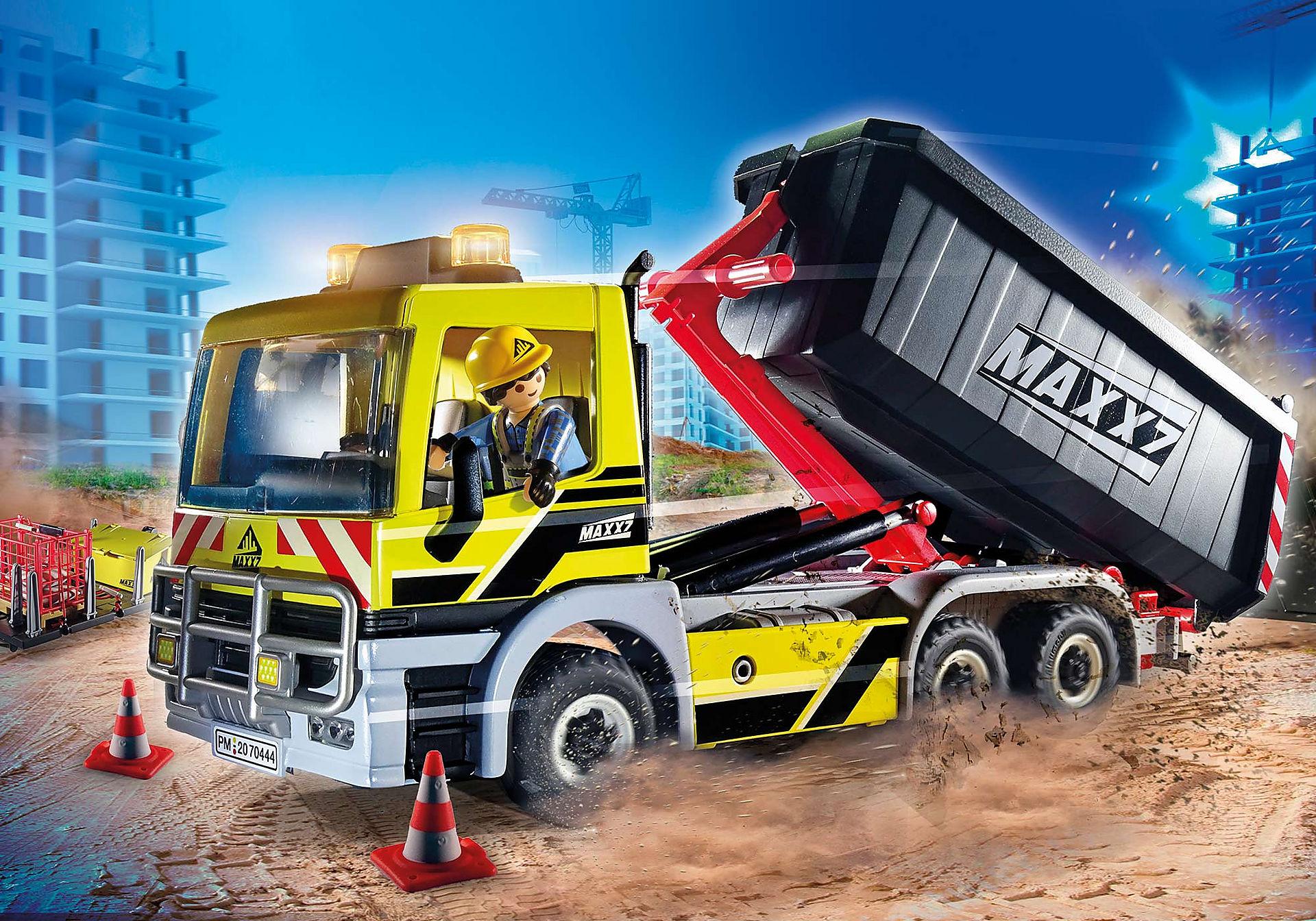 70444 Camion avec benne et plateforme interchangeables zoom image1