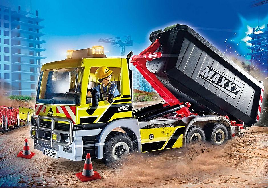 70444 Vrachtwagen met wissellaadbak detail image 1