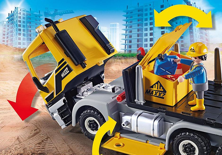 70444 Camion avec benne et plateforme interchangeables detail image 4