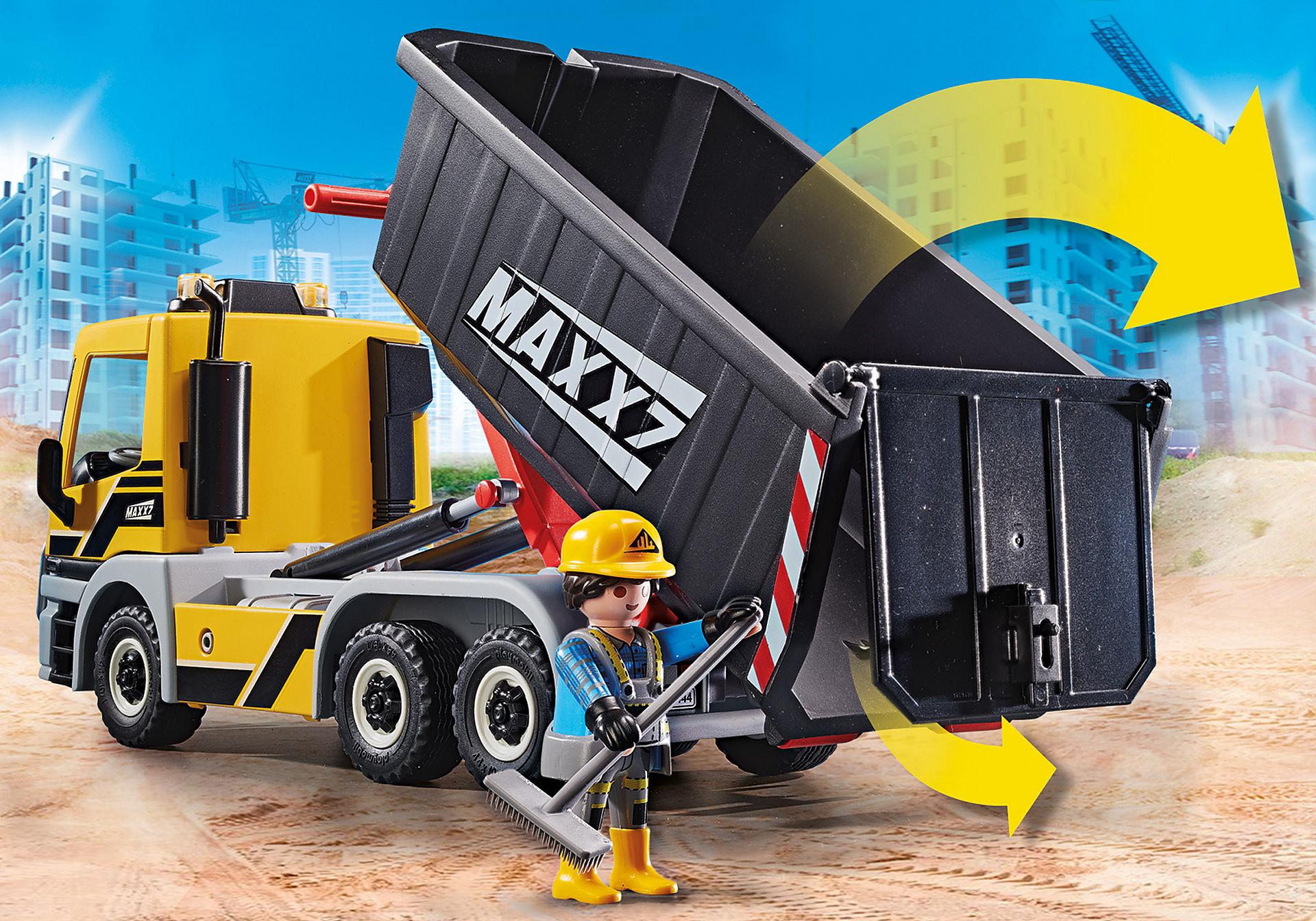 70444 Camion avec benne et plateforme interchangeables zoom image5
