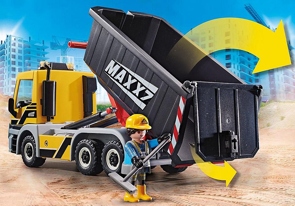 70444 Camion avec benne et plateforme interchangeables detail image 5