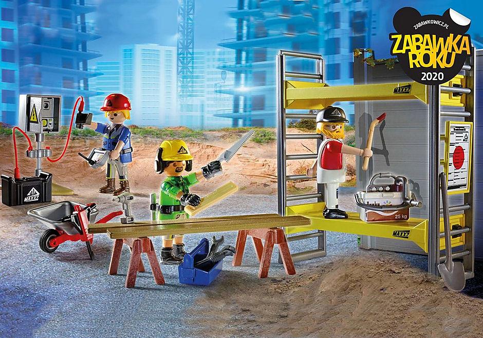 70446 Rusztowanie z robotnikami detail image 1