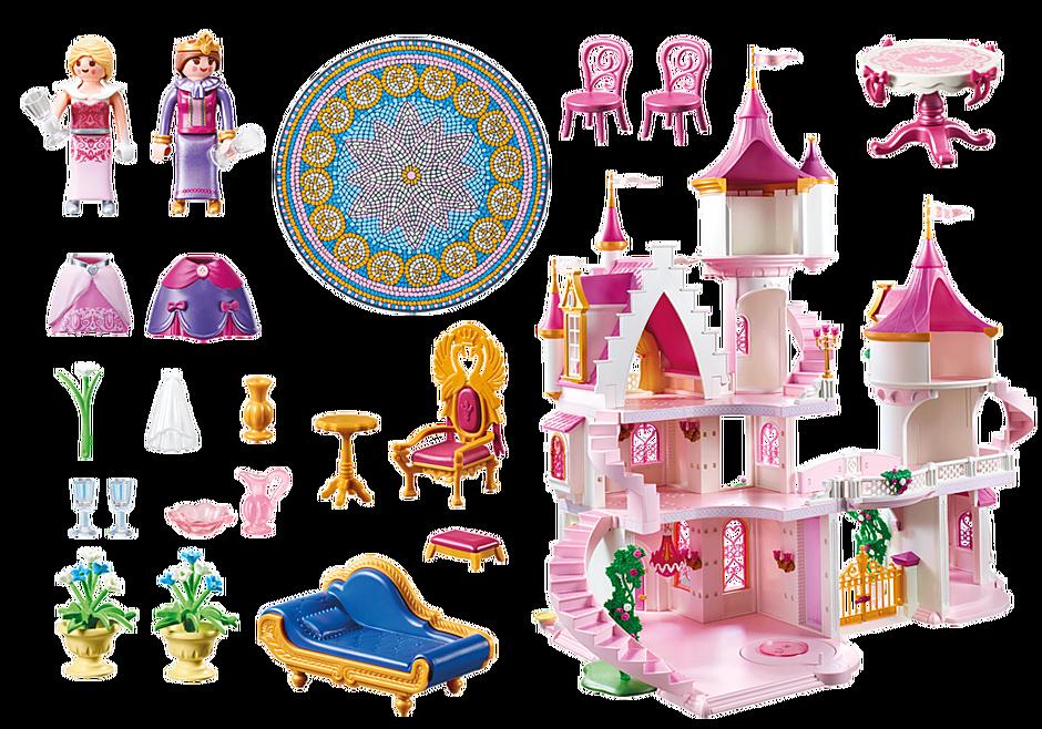 70447 Large Princess Castle detail image 3