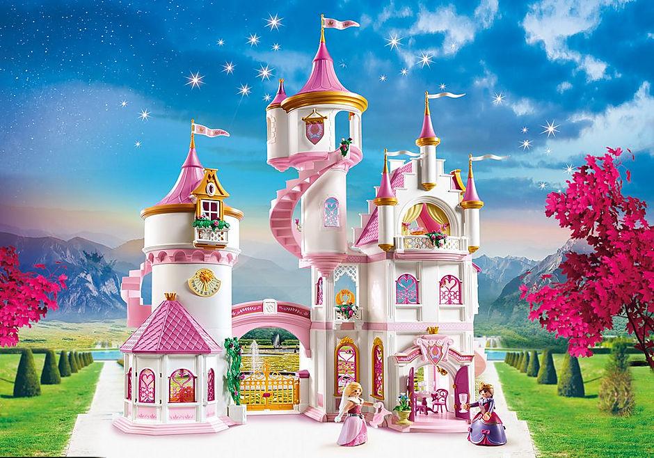 70447 Large Princess Castle detail image 1