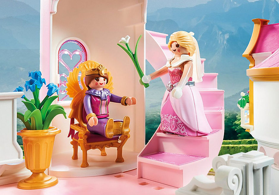 70447 Duży zamek księżniczki detail image 7