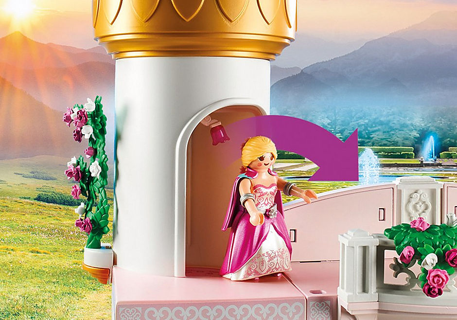 70448 Princess Castle detail image 5