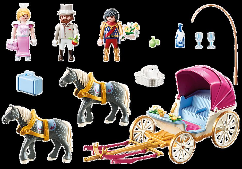 70449 Romantisk hästdragen vagn  detail image 3