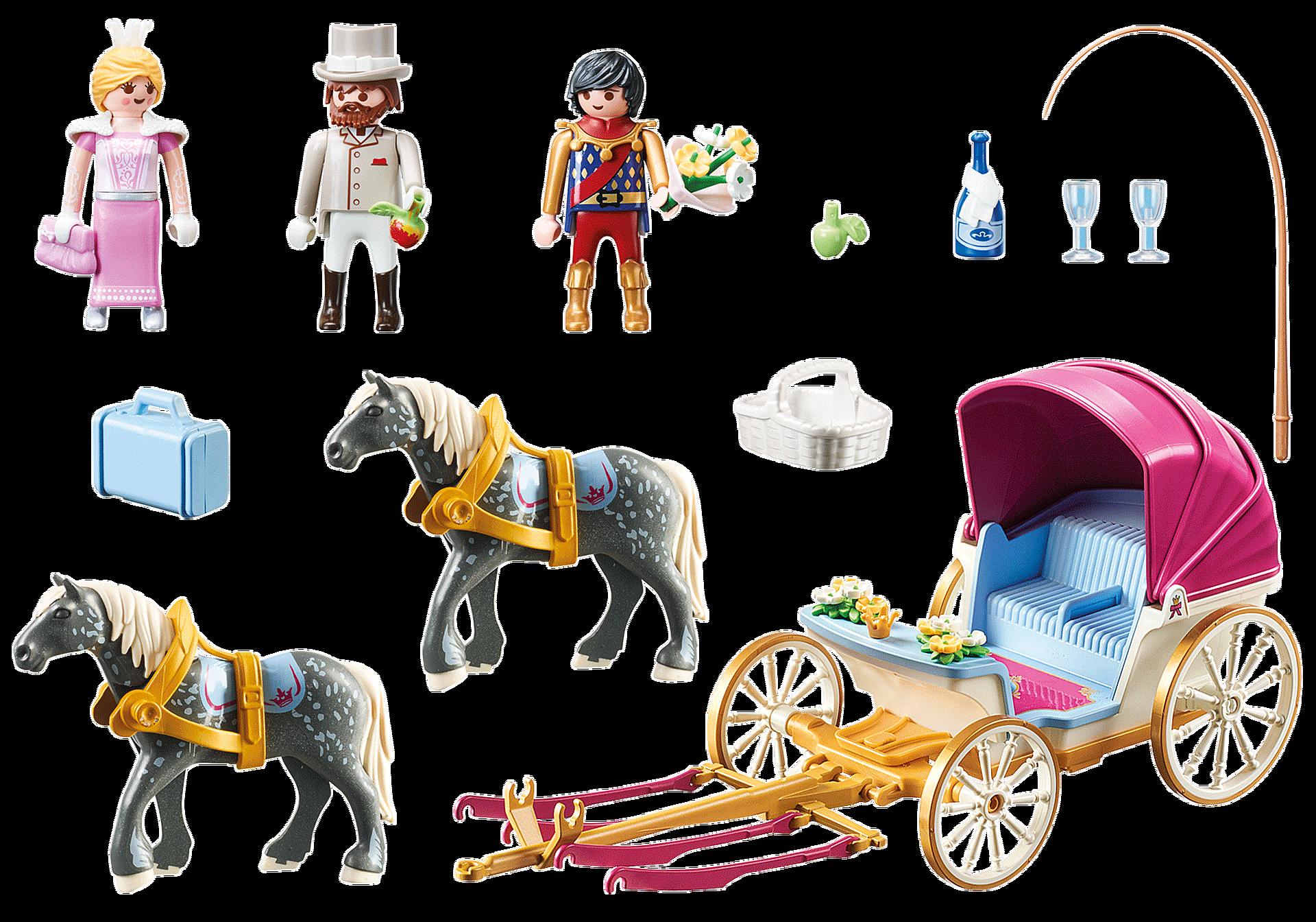 70449 Romantisk hästdragen vagn  zoom image3