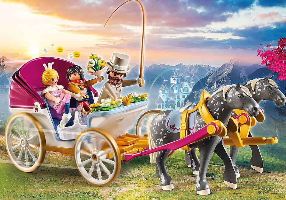 70449 Romanttiset hevosten vetämät vaunut  detail image 1