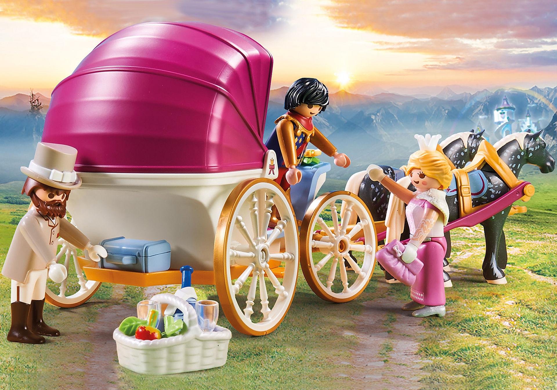 70449 Carruaje Romántico tirado por caballos zoom image4