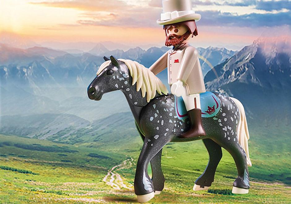 70449 Romantisk hästdragen vagn  detail image 6