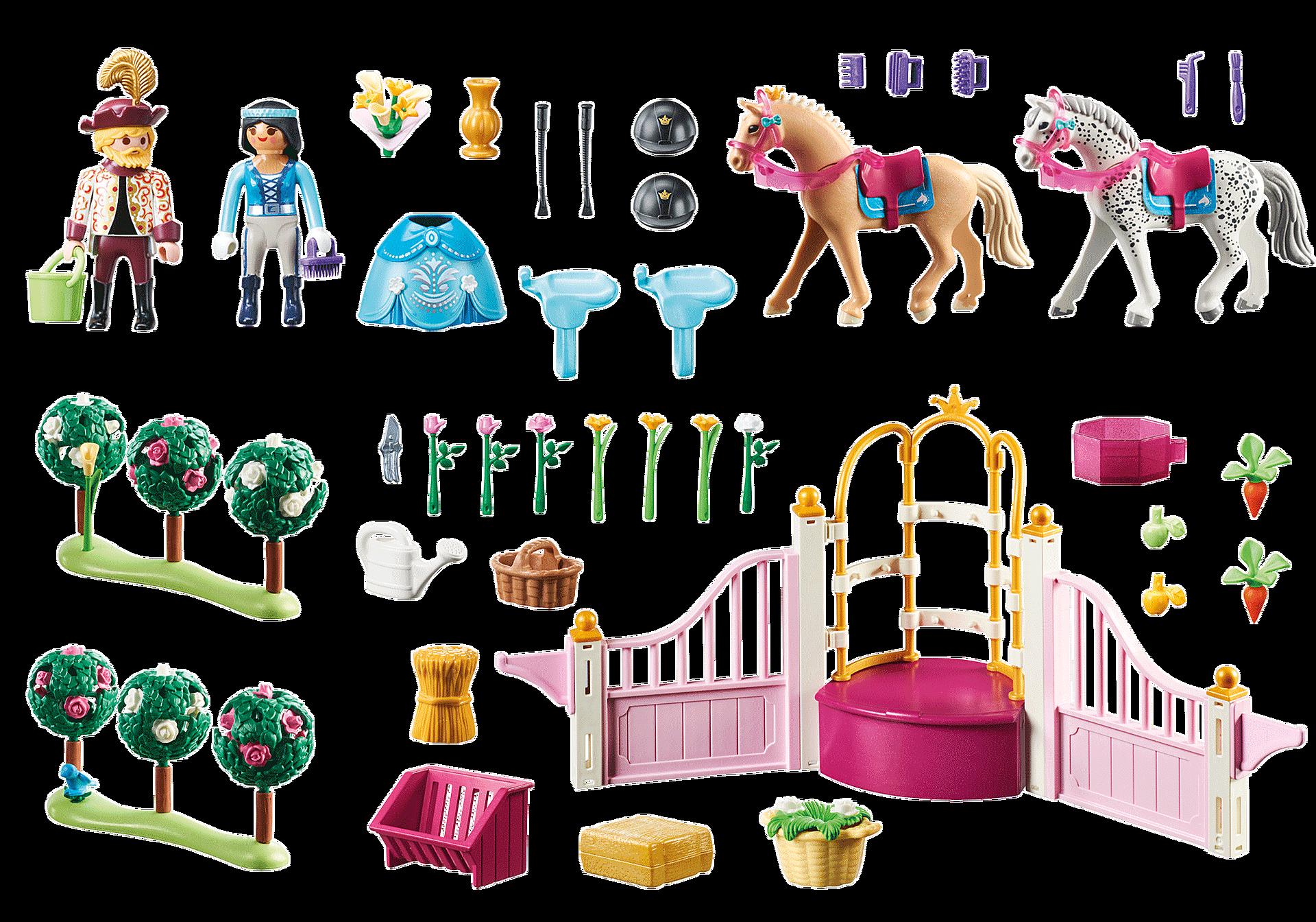 70450 Princesse avec chevaux et instructeur zoom image3