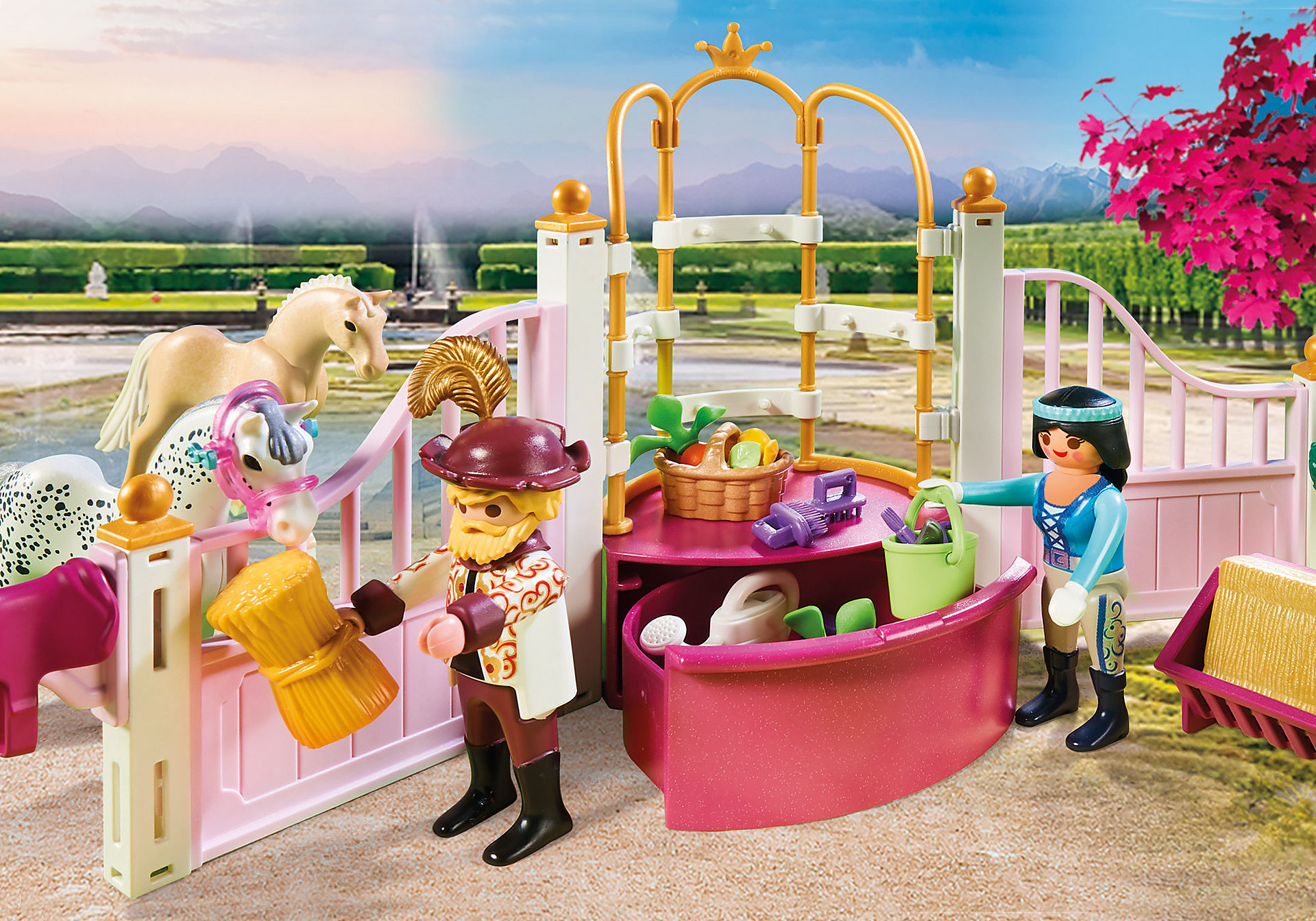 70450 Princesse avec chevaux et instructeur zoom image4