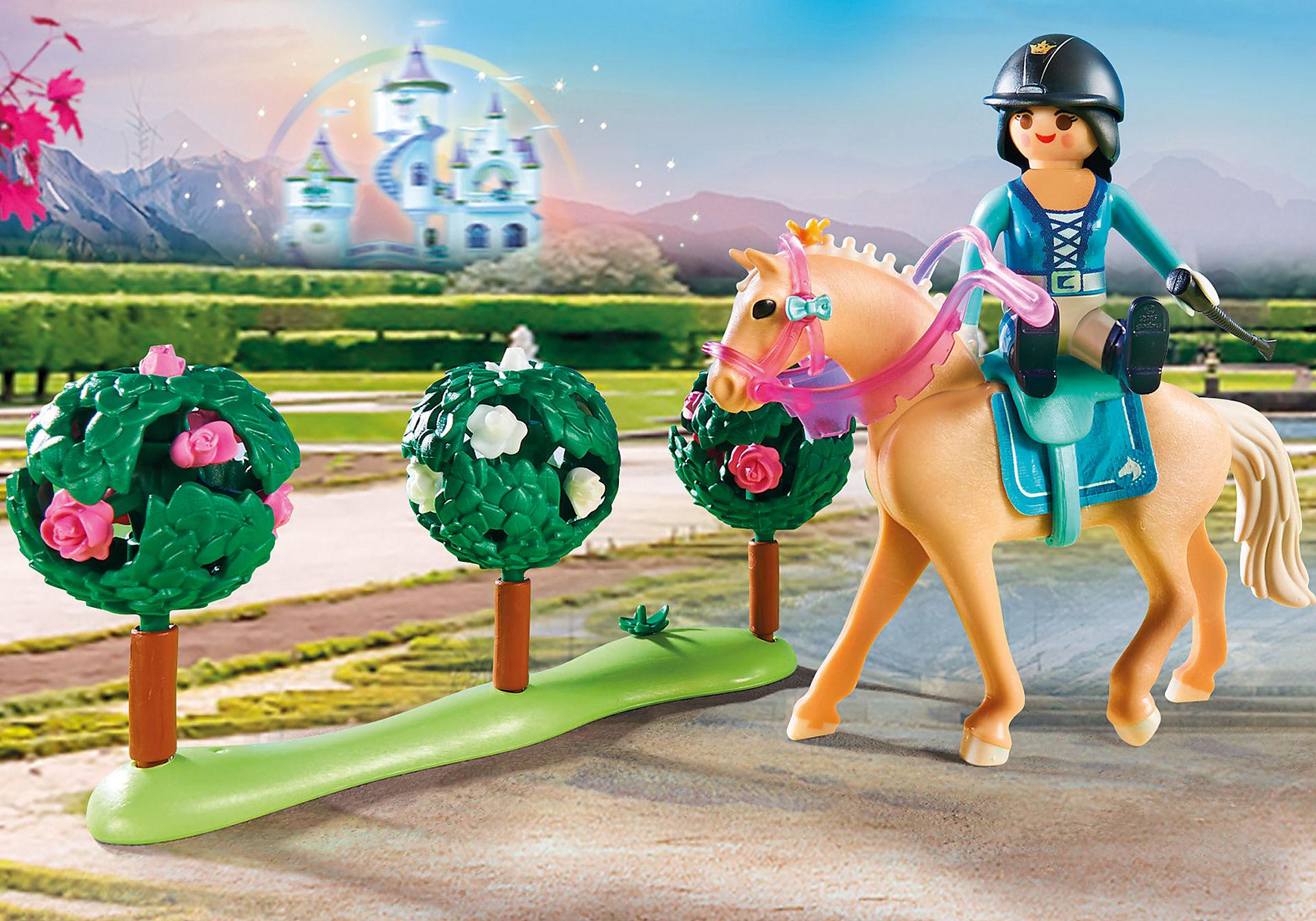 70450 Princesse avec chevaux et instructeur zoom image5
