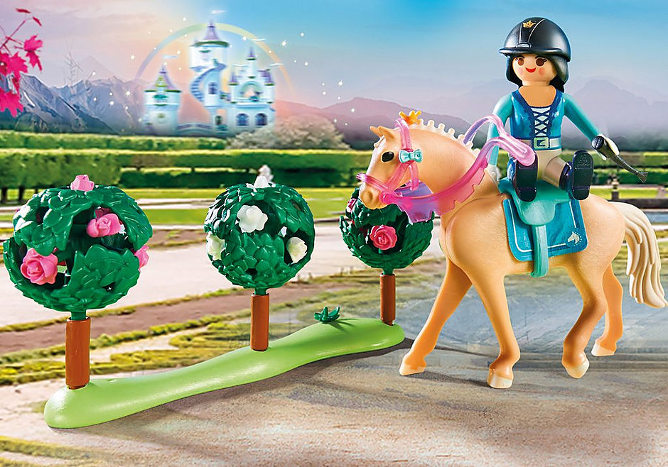 70450 Princesse avec chevaux et instructeur detail image 5