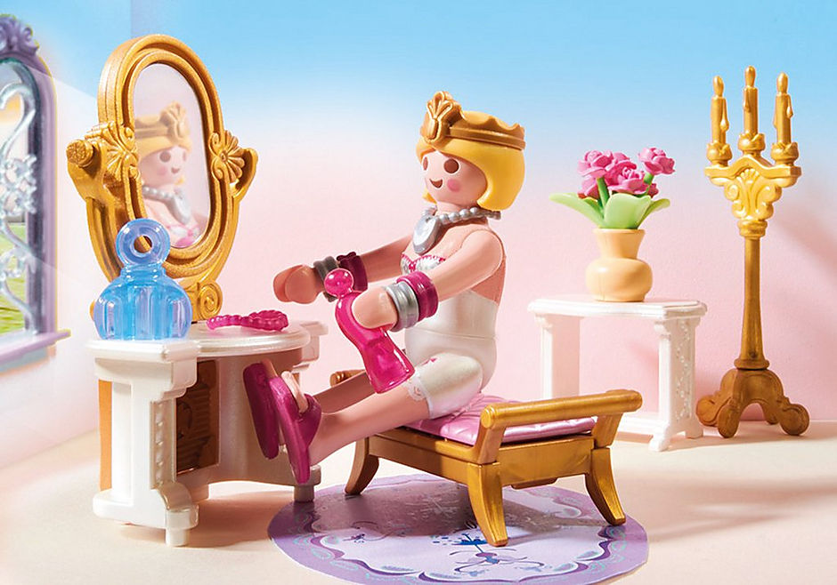 70453 Chambre de princesse avec coiffeuse detail image 5