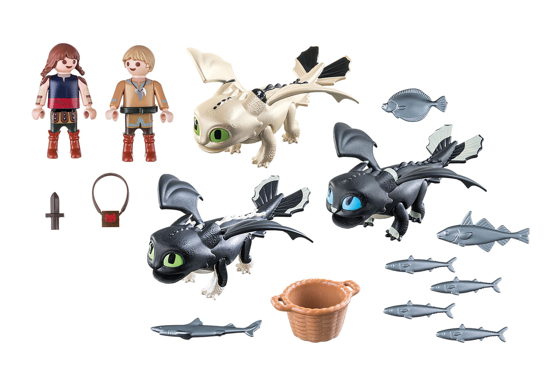 70457 Bébés dragons avec enfants zoom image3