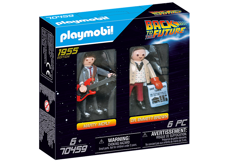 70459 Back to the Future Marty McFly und Dr. Emmett Brown detail image 2