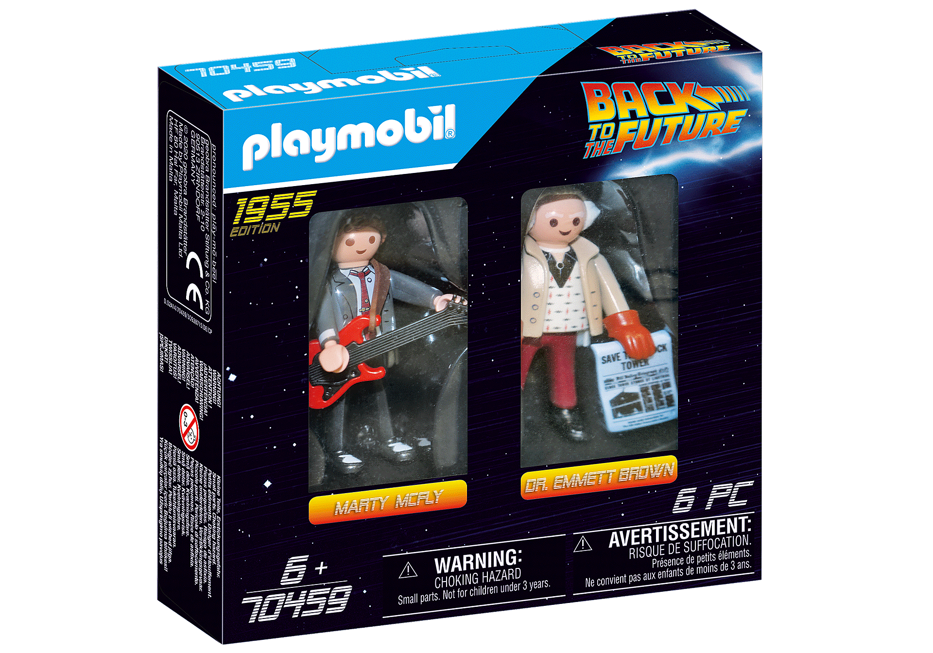 70459 Back to the Future Marty Mcfly und Dr. Emmett Brown zoom image2