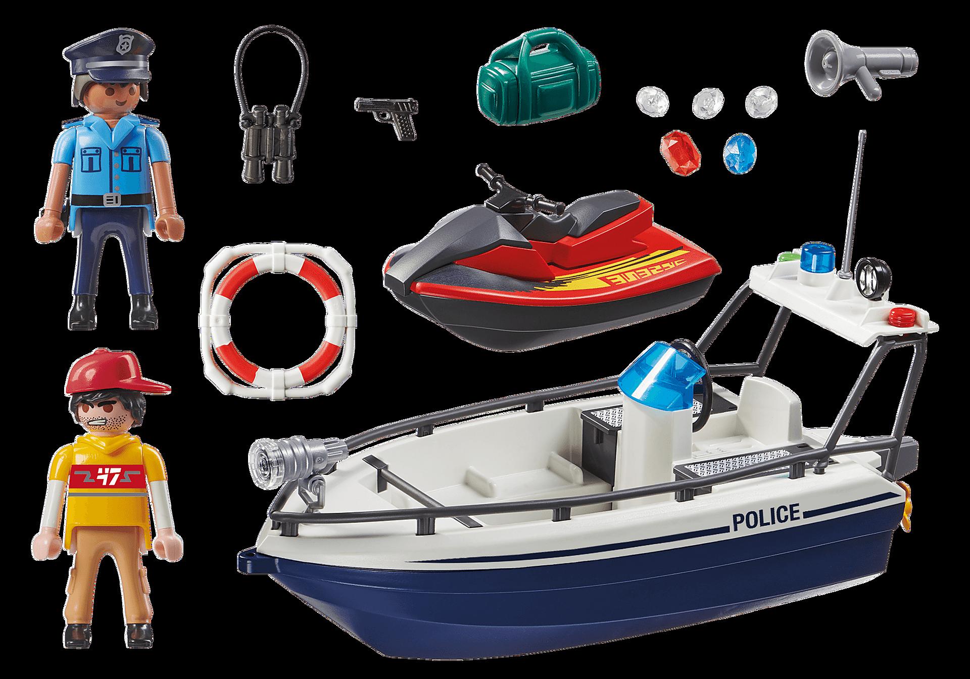 70463 Guarda Costeira e Ladrão em moto de água zoom image3
