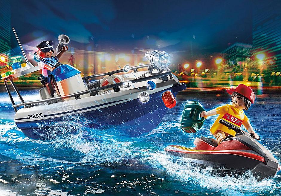 70463 Guarda Costeira e Ladrão em moto de água detail image 1