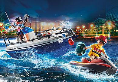 70463 Guardacostas y Ladrón en moto de agua