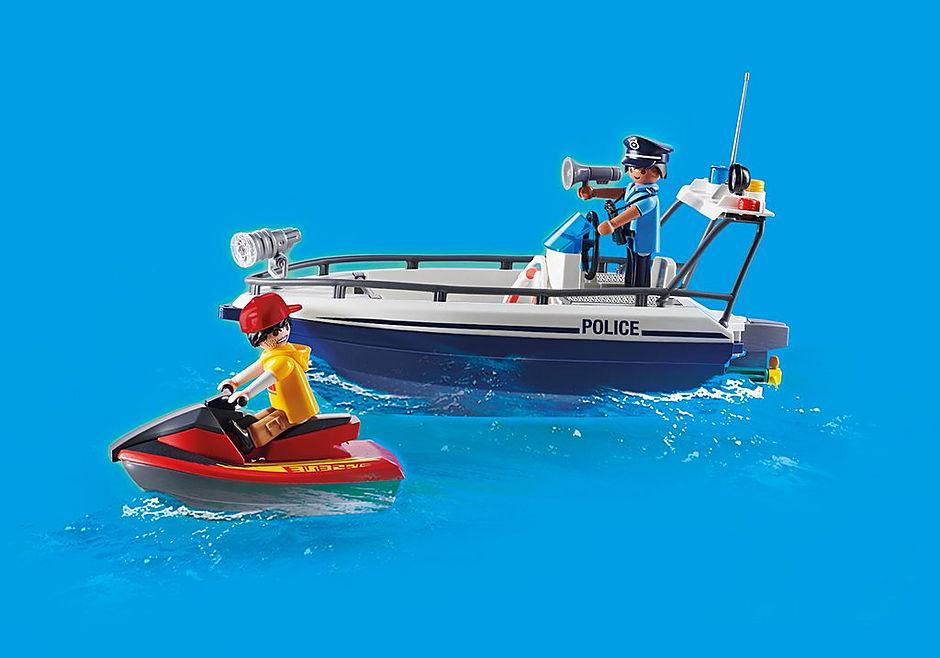 70463 Guardacostas y Ladrón en moto de agua detail image 5