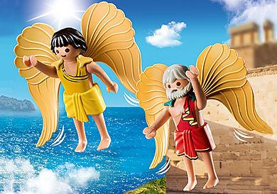70471 Daedalus en Icarus