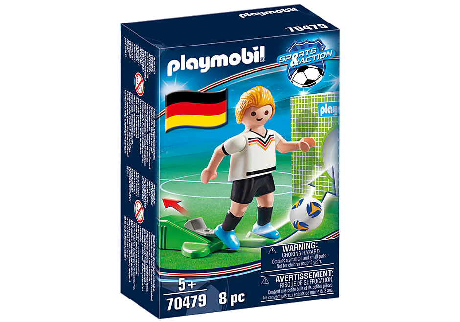 70479 Jugador de Futebol - Alemanha detail image 3