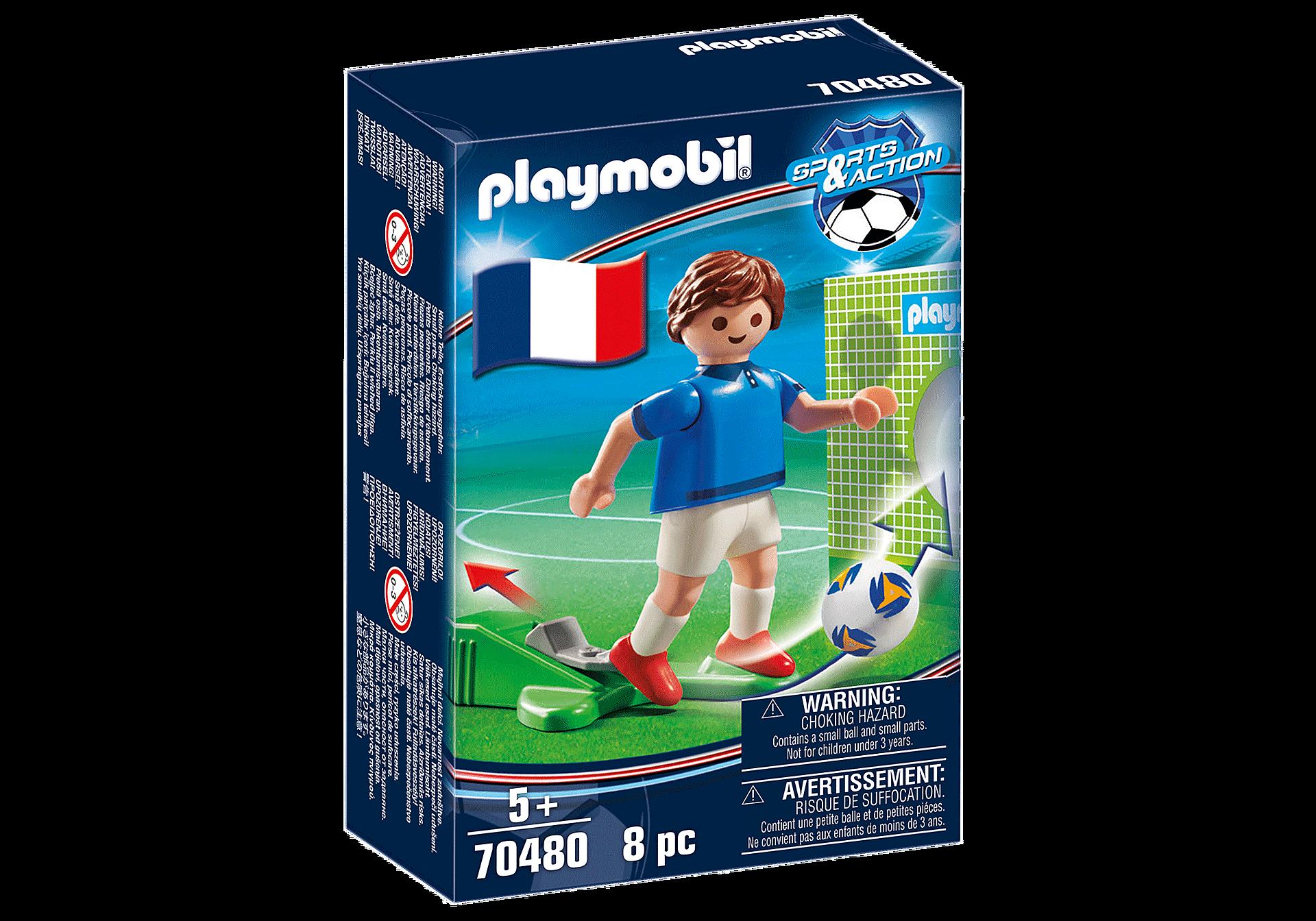 70480 Fransk fotbollsspelare A zoom image2