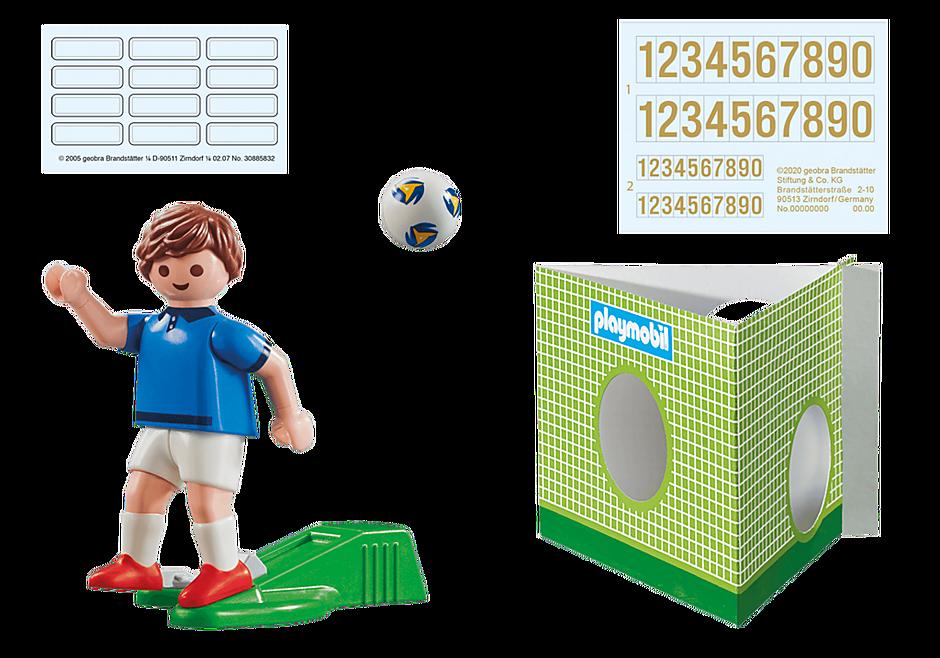 70480 Fransk fotbollsspelare A detail image 3