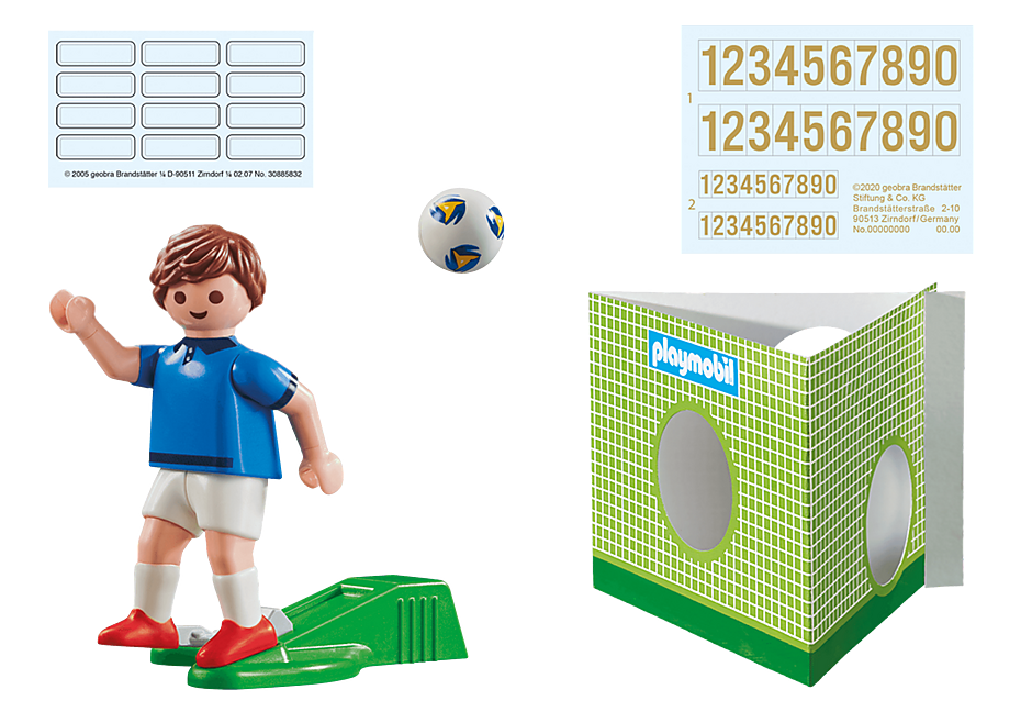 70480 Voetbalspeler Frankrijk A detail image 3