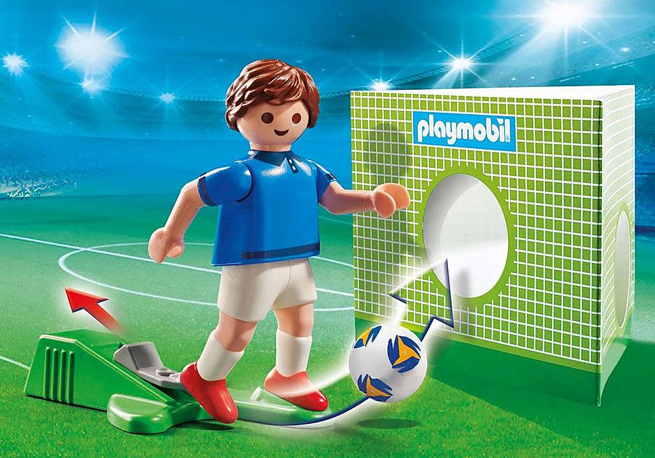 70480 Fransk fotbollsspelare A detail image 1