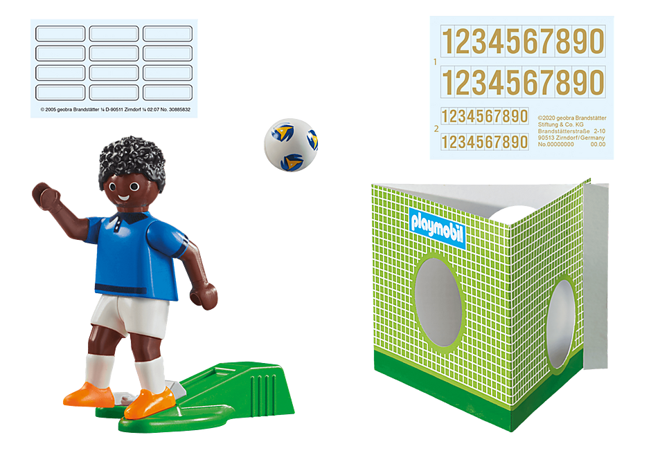 70481 Jugador de Futebol - França B detail image 2