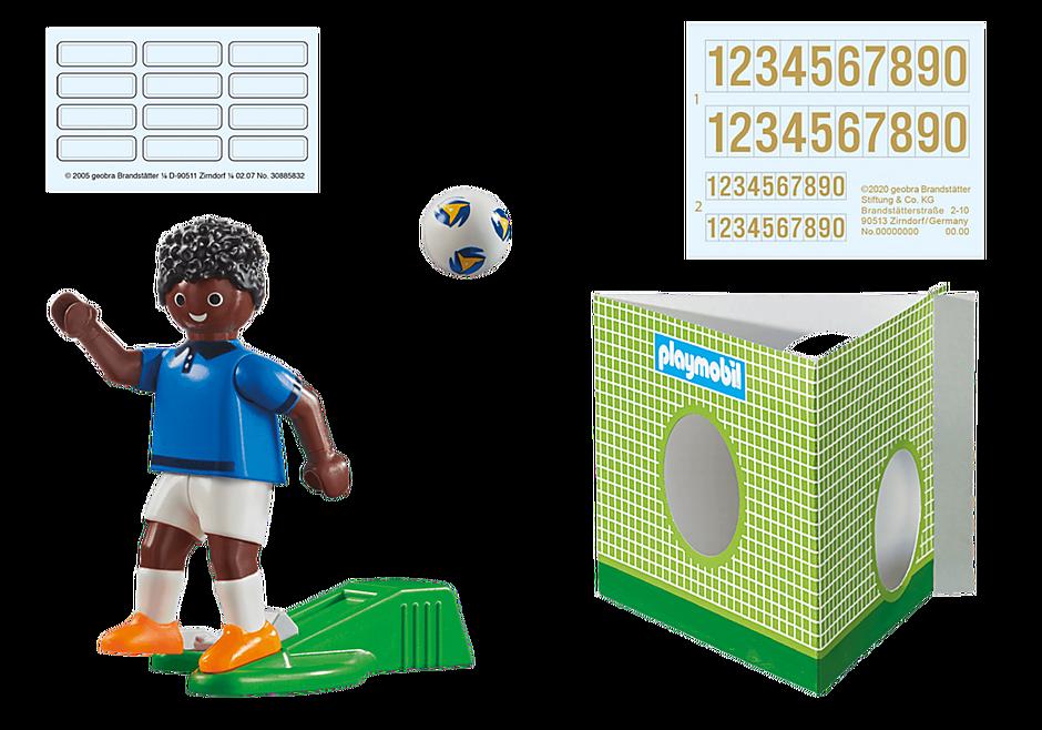 70481 Voetbalspeler Frankrijk B detail image 3