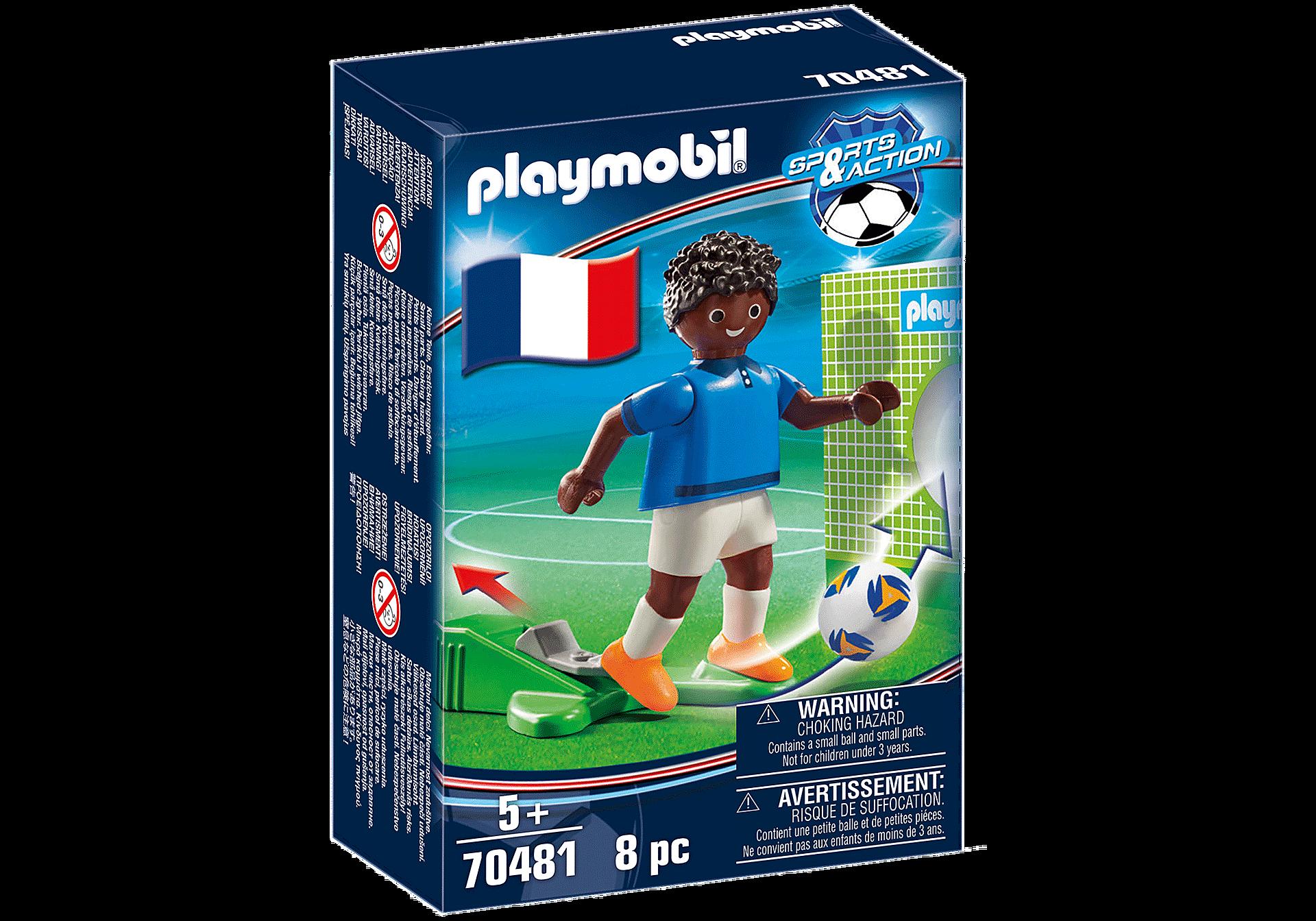 70481 Jugador de Fútbol - Francia B zoom image2