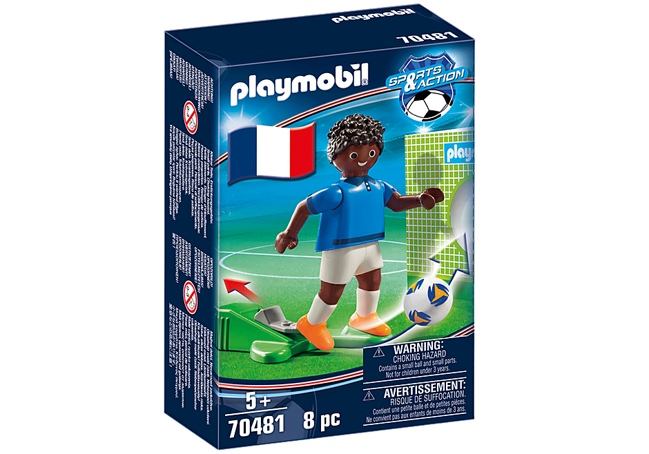 70481 Voetbalspeler Frankrijk B detail image 2