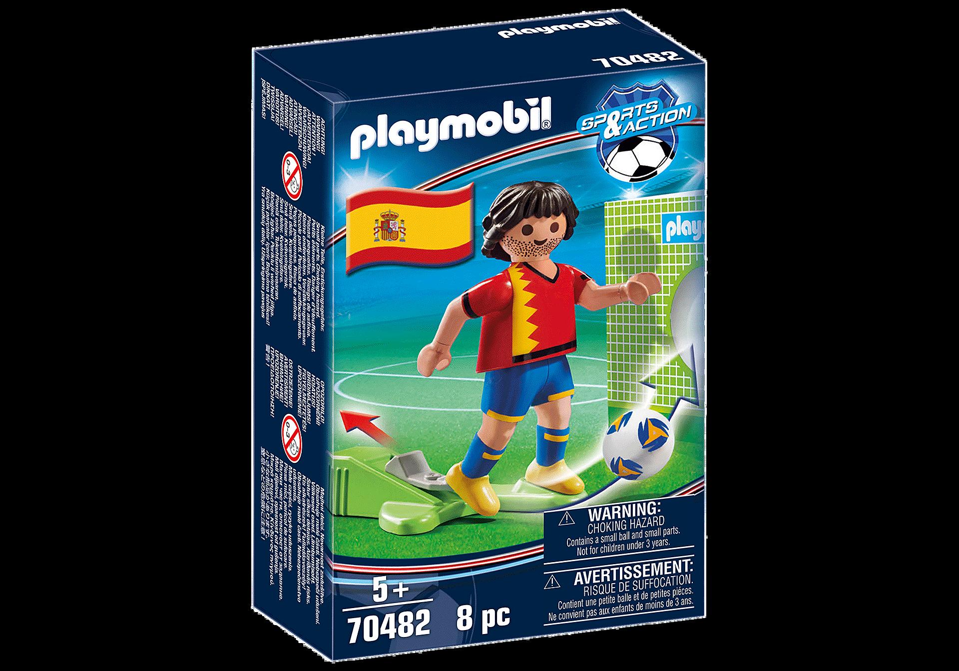 70482 Spansk fotbollsspelare zoom image3
