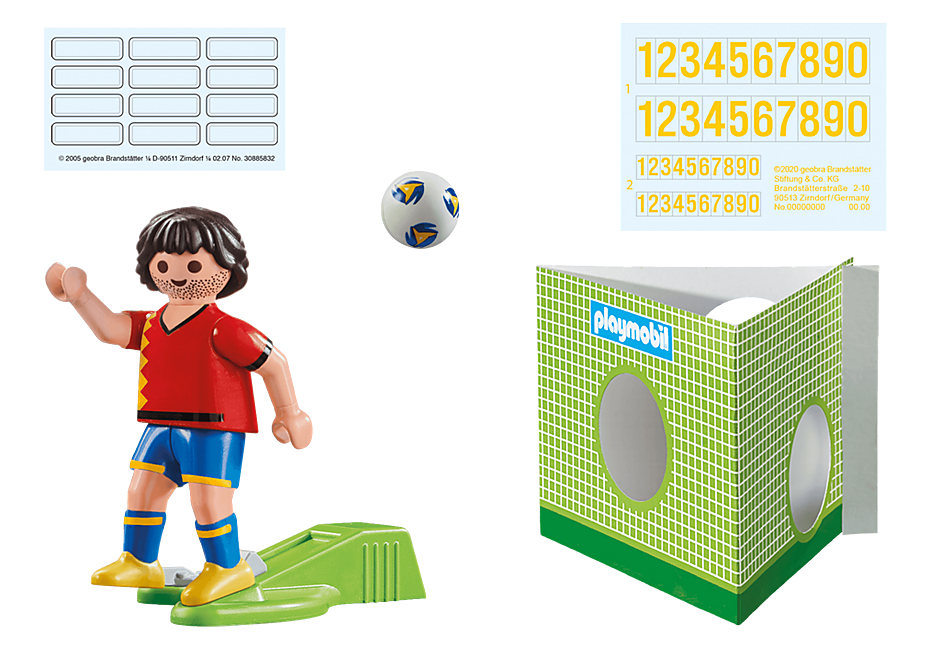 70482 Nationalspieler Spanien detail image 4
