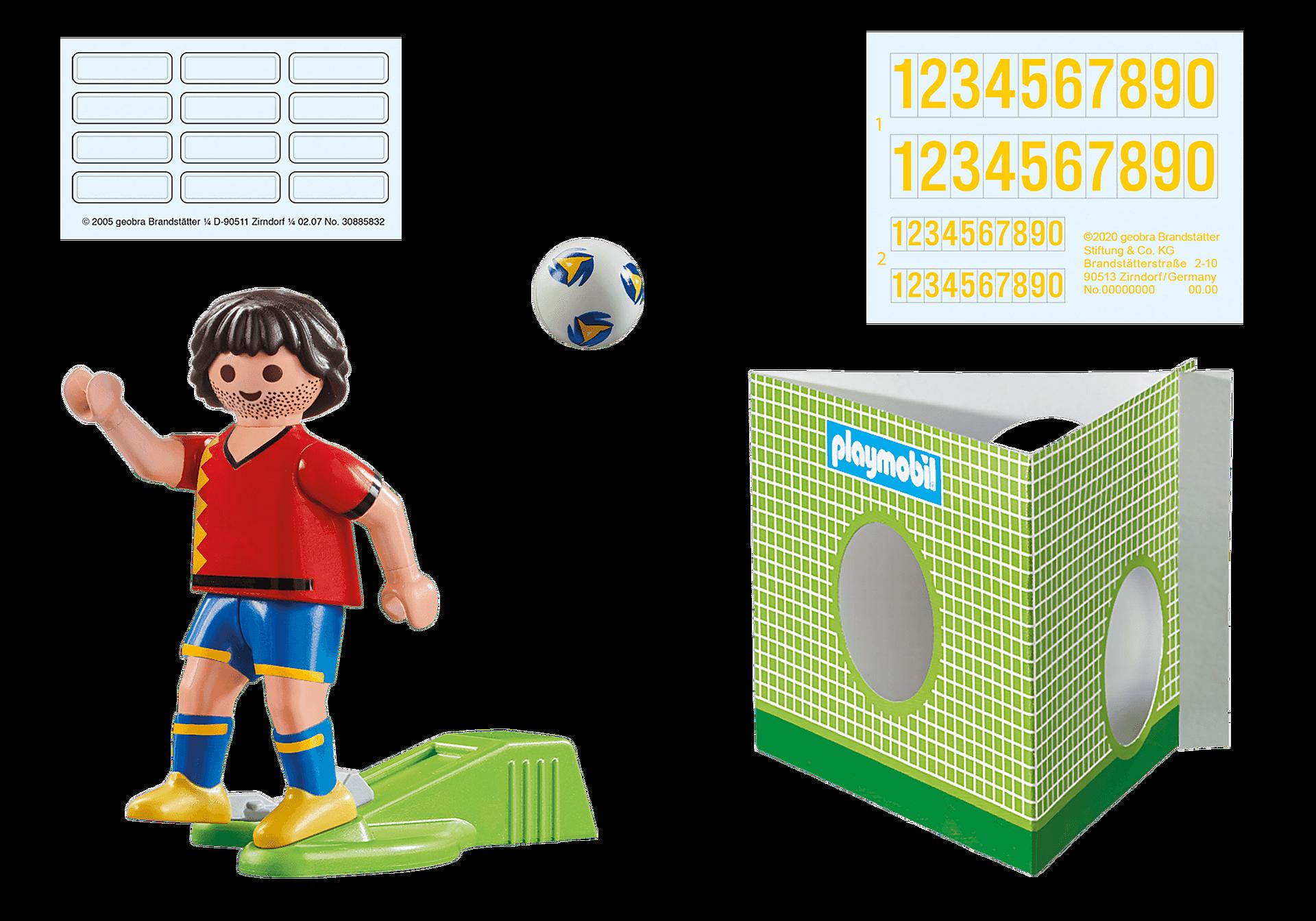 70482 Spansk fotbollsspelare zoom image4