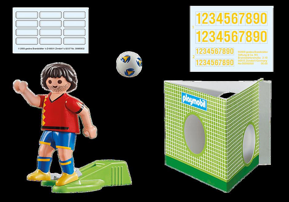 70482 Voetbalspeler Spanje detail image 4