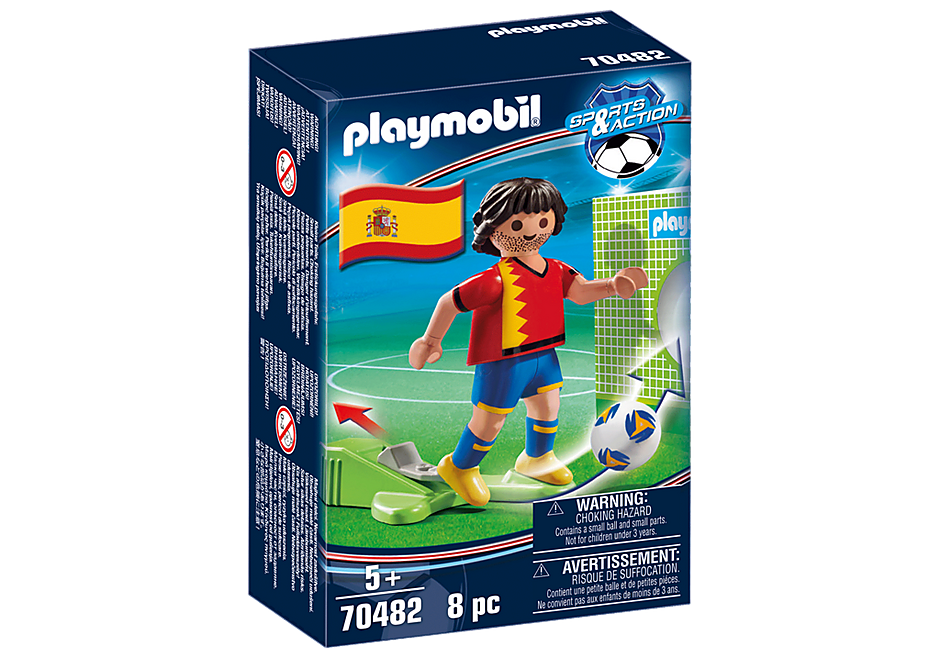 70482 Voetbalspeler Spanje detail image 2
