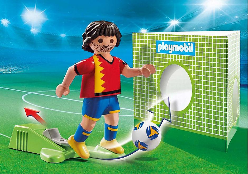 70482 Piłkarz reprezentacji Hiszpanii detail image 1