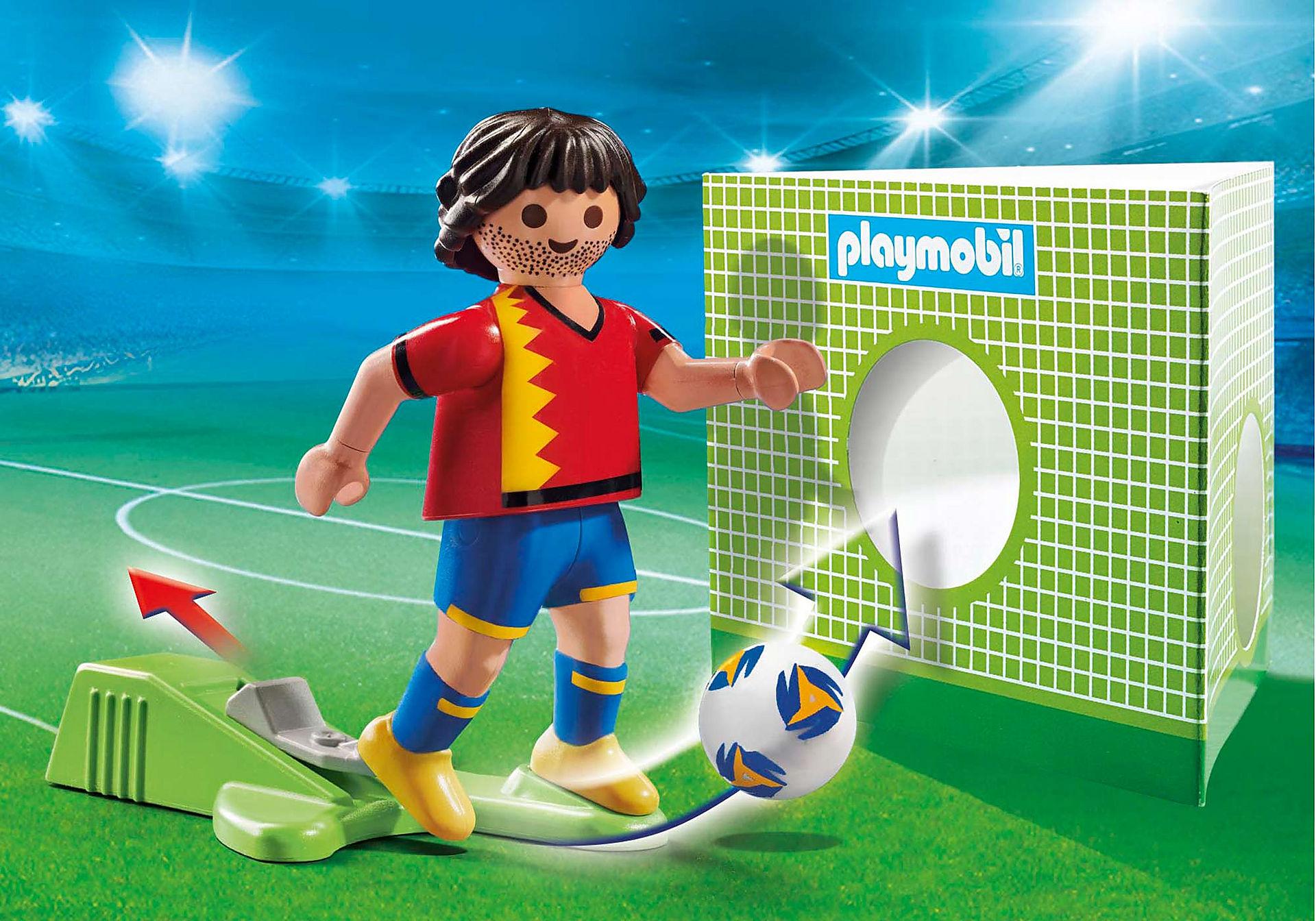70482 Piłkarz reprezentacji Hiszpanii zoom image1