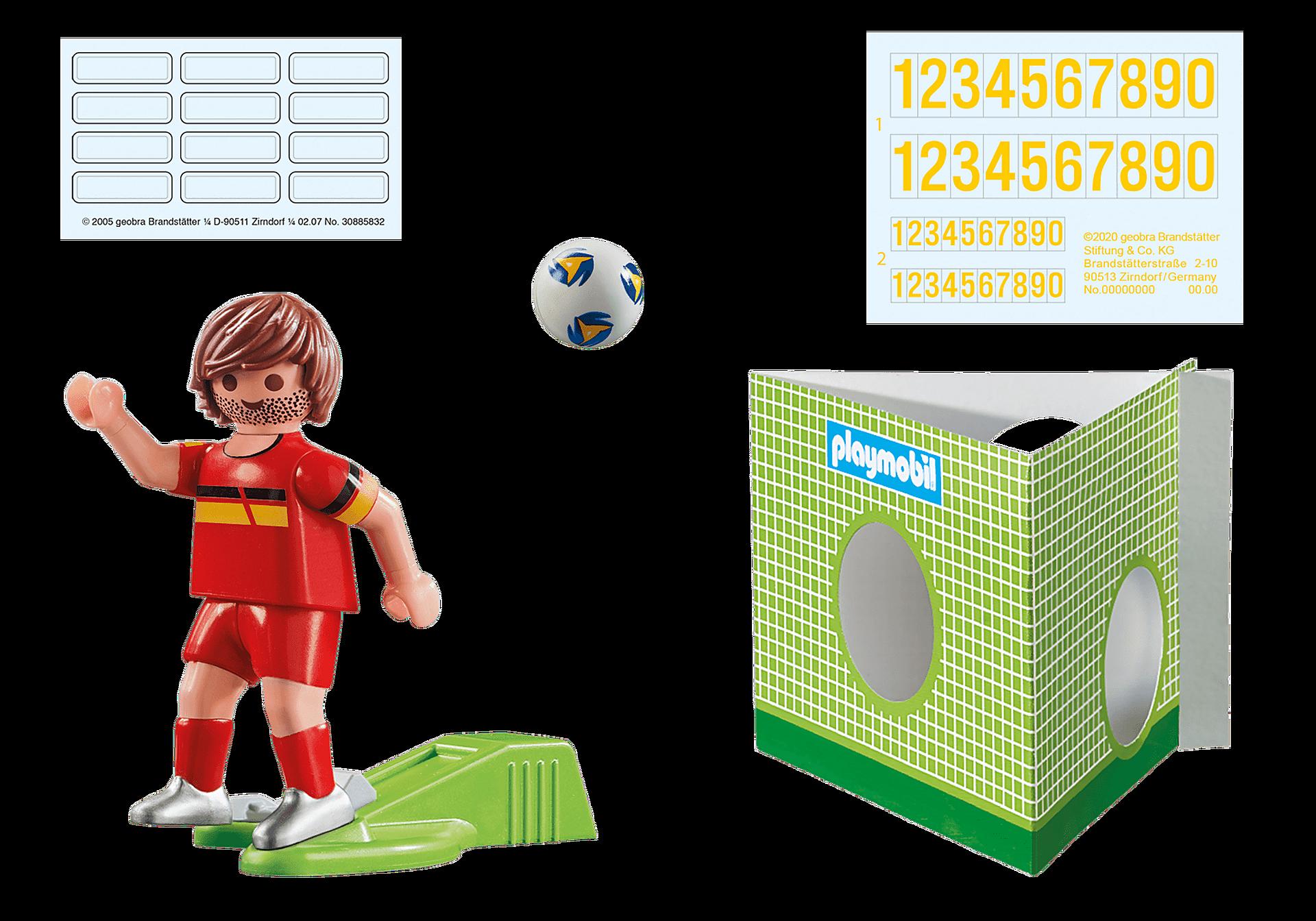 70483 Jugador de Fútbol - Bélgica zoom image2