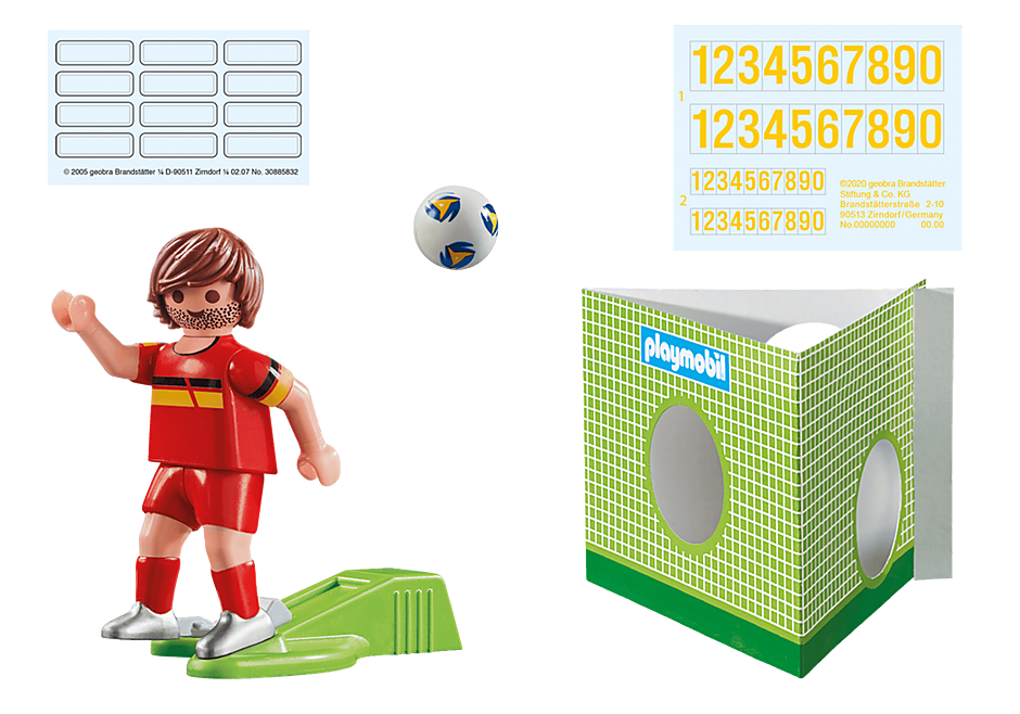 70483 National Player Belgium detail image 2