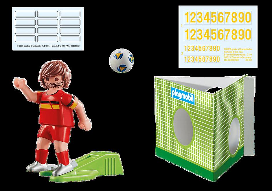 70483 Voetbalspeler België detail image 2